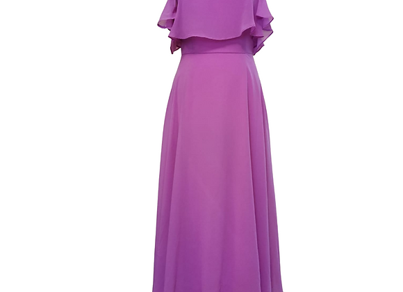Asos purple maxi dress. Uk 10