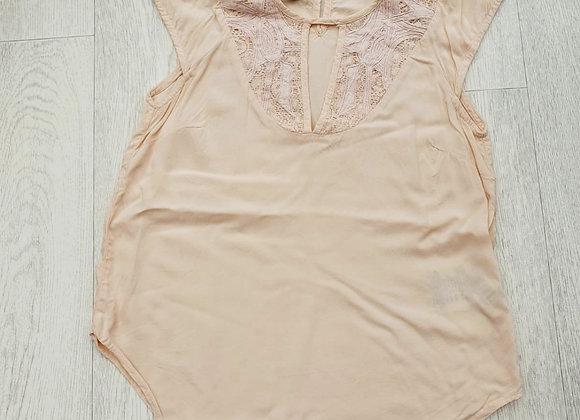 🌕Daniel Cassin peach top. Size S/P