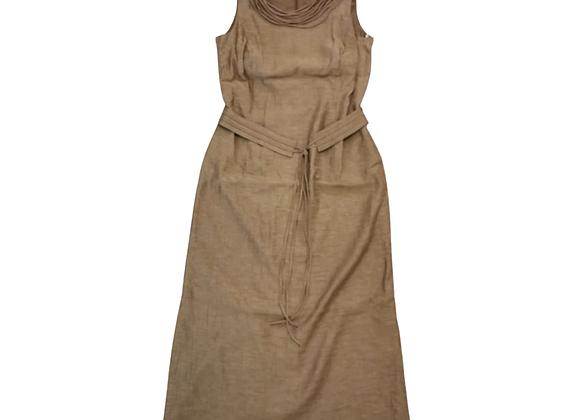 Cavita brown dress. UK 16 NWT