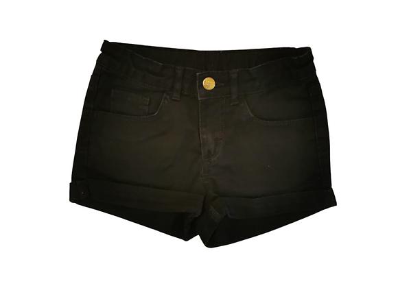 H&M Black denim shorts. 9-10yrs