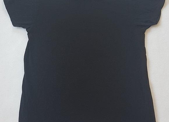CEDAR WOOD STATE. Black short sleeve top. Size M Slim fit.