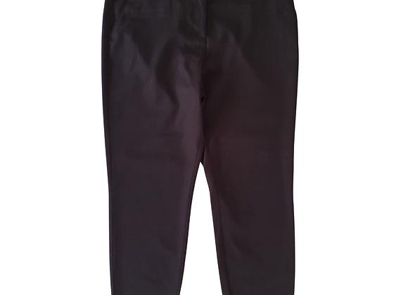 Tu Black tapered leg trousers. 14S