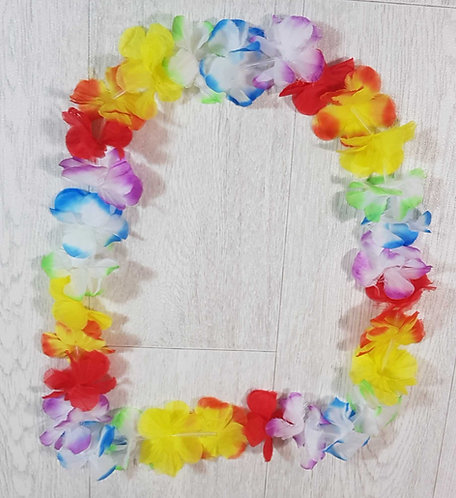 ◾Hawaii style flower necklace