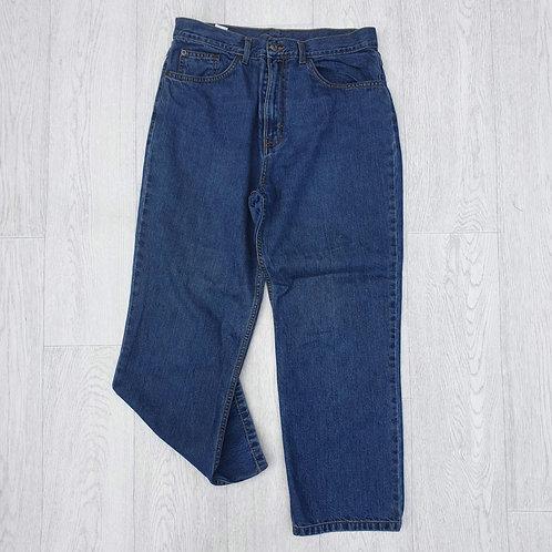 ⭐M&S high waist denim jeans size 14 short