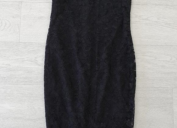 AX Paris black lace dress. Uk 10