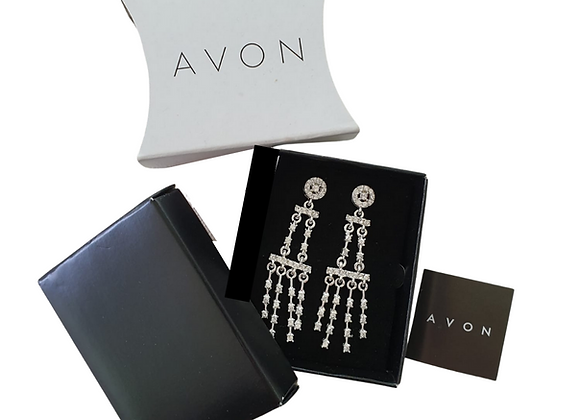Avon Chandelier ear rings. NWT