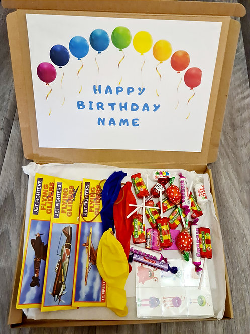 Birthday party box/ party bag/ gift box