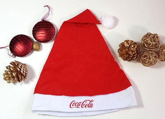 Coca Cola adults felt Santa Hat.