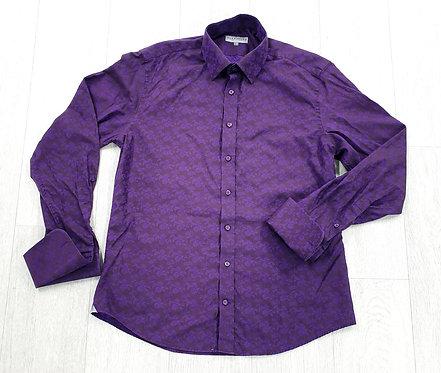 "Alexandre Saville Row purple shirt. 15½"" collar"