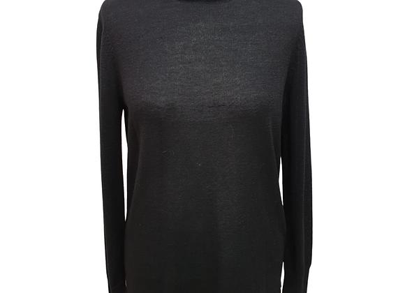 Next Black open back sweater. Uk 14