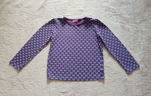 CHEROKEE Purple long sleeve top with butterfly detail. 6-7yrs KEEP AWAY FIRE