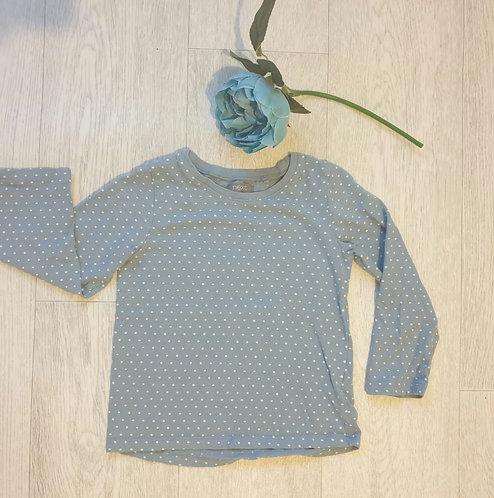 ⭐Next blue spotty long sleeve top 18-24m