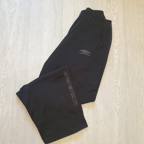 ⚽️Umbro black straight sports trousers. Size S