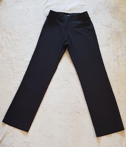 """Trutex. Black school trousers. 22S 22""""W 28""""L."""