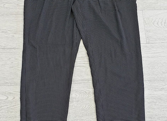 •BAF black patterned trousers. Size 14 /Euro 40 NWT
