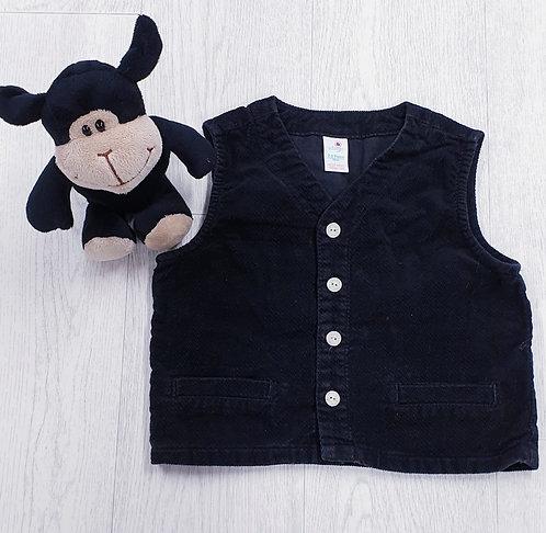 🏴Adams black waistcoat. 2-3yrs
