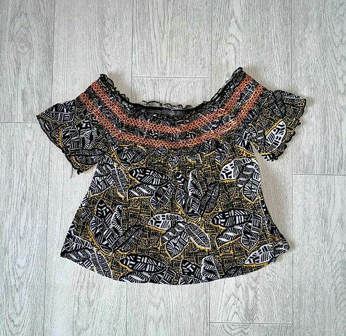 🦊Primark boho top. Size 4