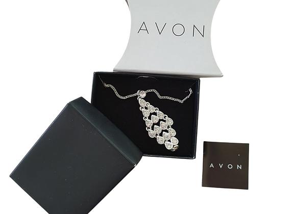 Avon Raindrop necklace NWOT