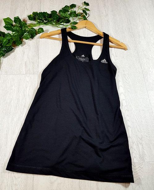 ✴Adidas women's black sports vest top size S
