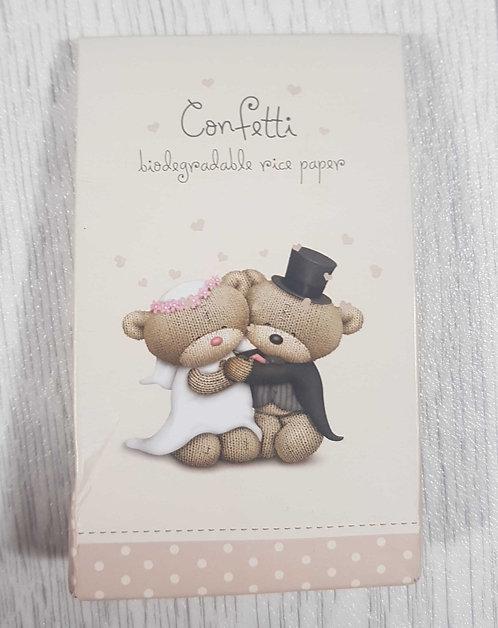 ◾Biodegradable rice paper confetti