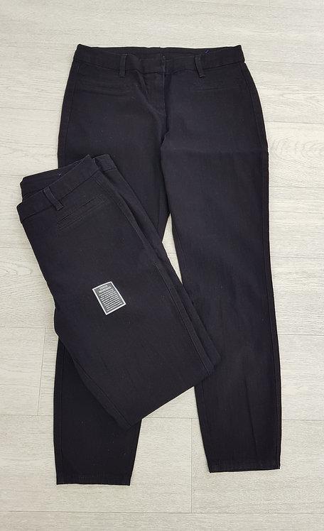 🍁Bhs black button up denim skinny jeans size 14