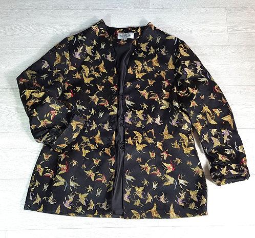 Cathayana bird jacket. Size M
