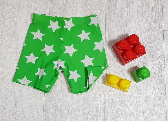 ◾Bhs green star swim shorts. Age 6-9months