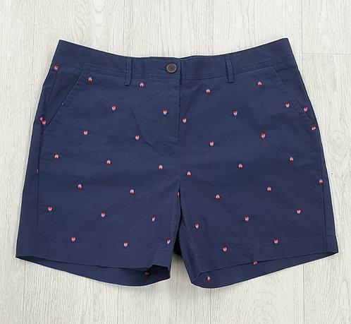 Crew Clothing navy shorts. Uk 14