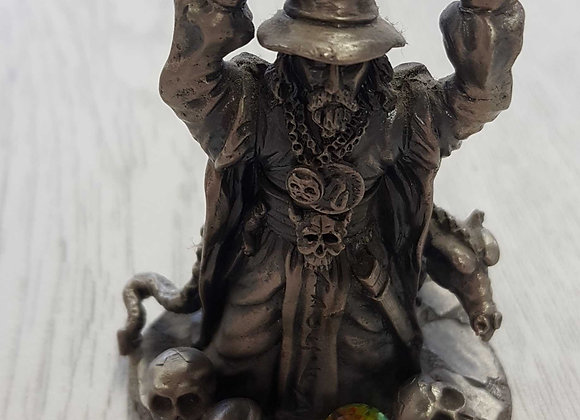◾The Sword Master pewter ornament