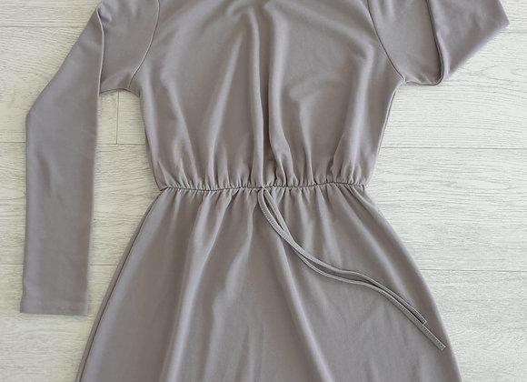 Boohoo grey dress. Uk 6 petite
