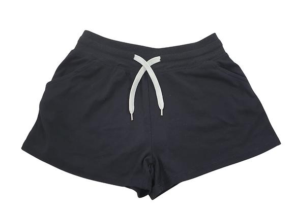 Atmosphere black jersey shorts. Uk 8