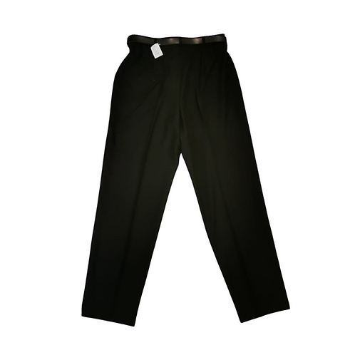 Collection First Avenue Black belted trousers. Uk 18