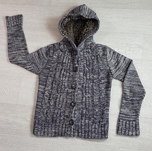 Brave Soul knit hooded cardigan. Size 14