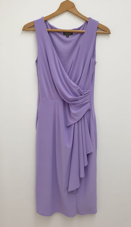 Alexon purple dress. Uk 8