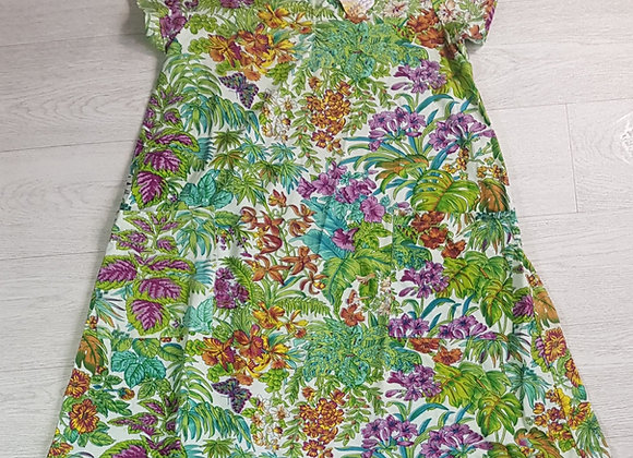 April Cornell Multi forest dress. Size Small NWT