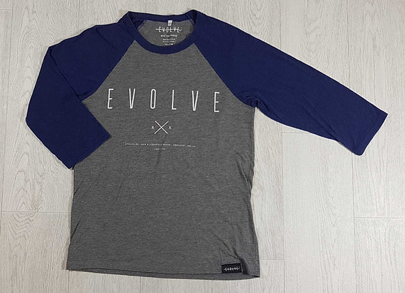 ◾Evolve cropped sleeve sweat top. Size S