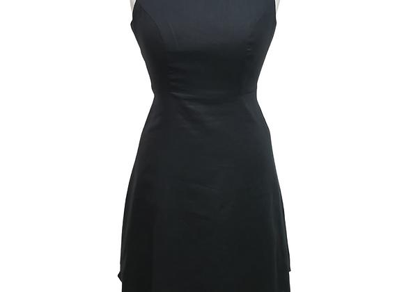 F&F Black linen dress. Uk 10