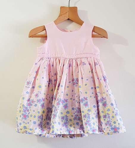 Mothercare pink dress. 6-9months