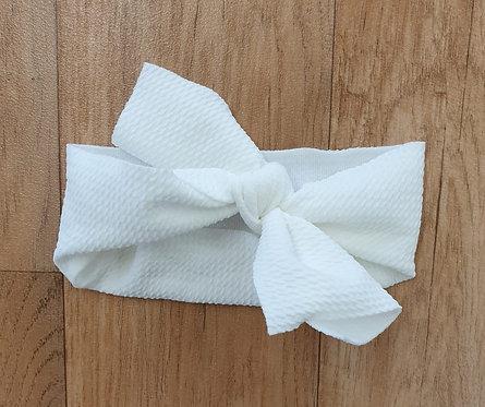 Baby head bow.