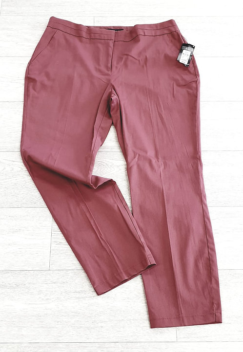 •Atmosphere dusky pink chino trousers. Size 14 NWT