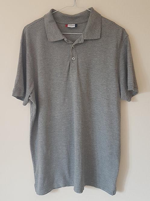 CLIQUE. Grey polo shirt. Size L