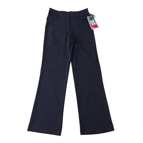 Banner navy bootleg trousers. NWT