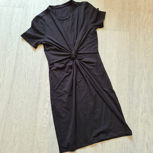 💋Black knot front dress. Size 6