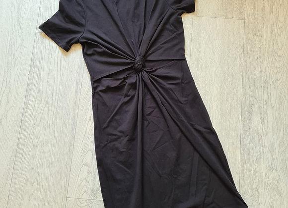 💋Black knot front dress. Size 6