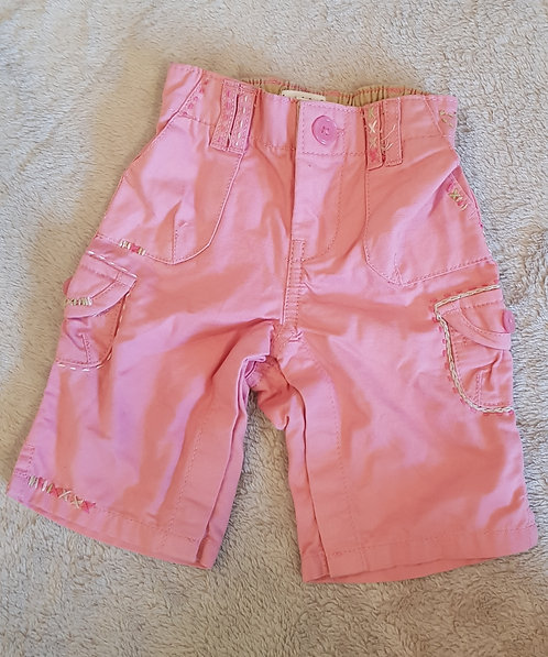 Baby Gap. Pink trousers. Poppers up both legs. Up to 3 months.