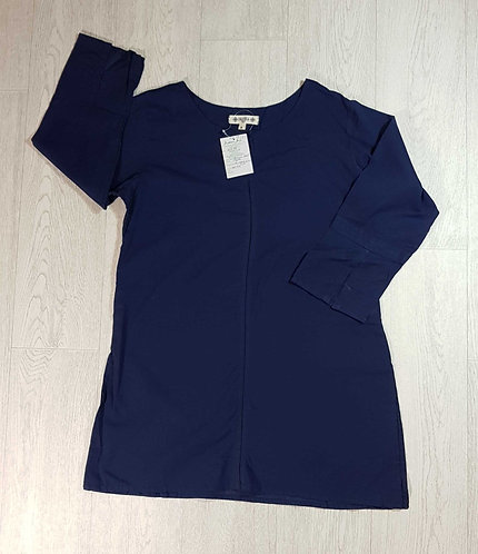 ◾Nayika navy tunic. Size S NWT