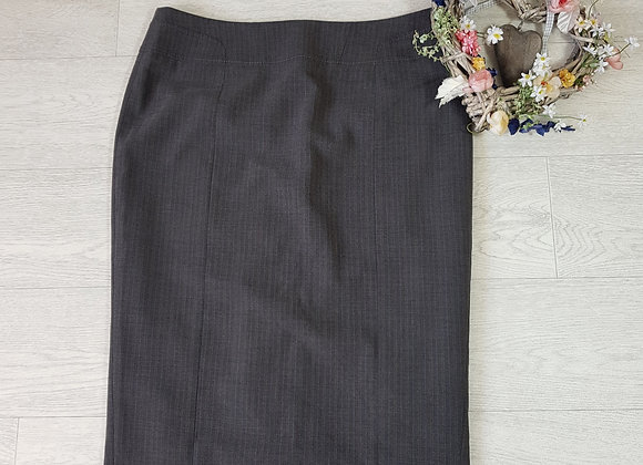 F&F grey pencil skirt. Size 12