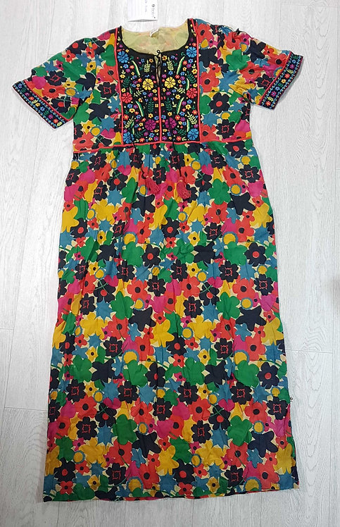 The Shop bright floral dress. Size M NWT