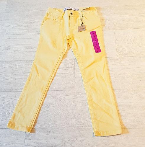 💛Denim Co yellow skinny jeans. 6-7yrs