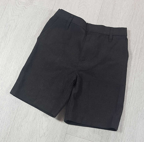 Tu charcoal school shorts. 6yrs